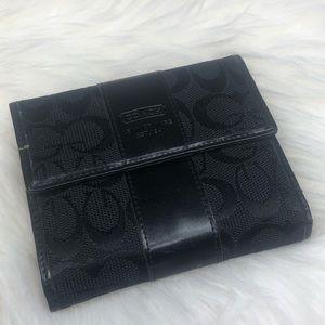 Coach Bags - Coach Signature C Print Wallet in Black